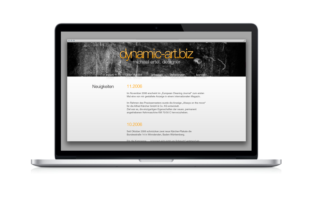 Happy Birthday, 5 Jahre dynamic-art.biz