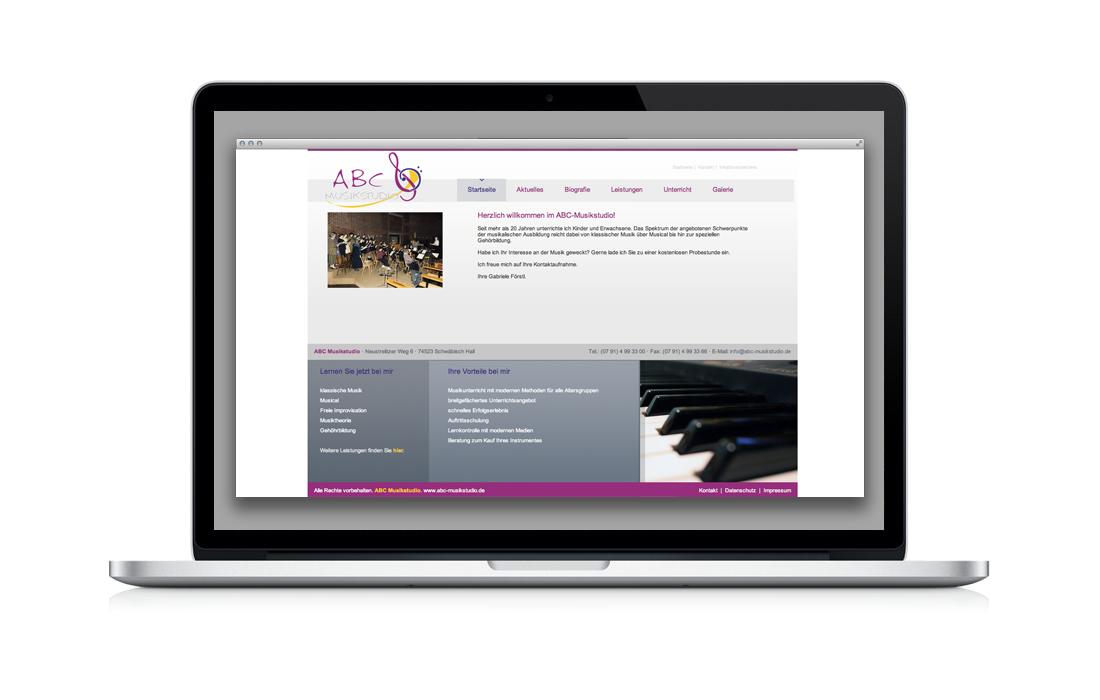 ABC-Musikschule für Dicke Kreativbüro