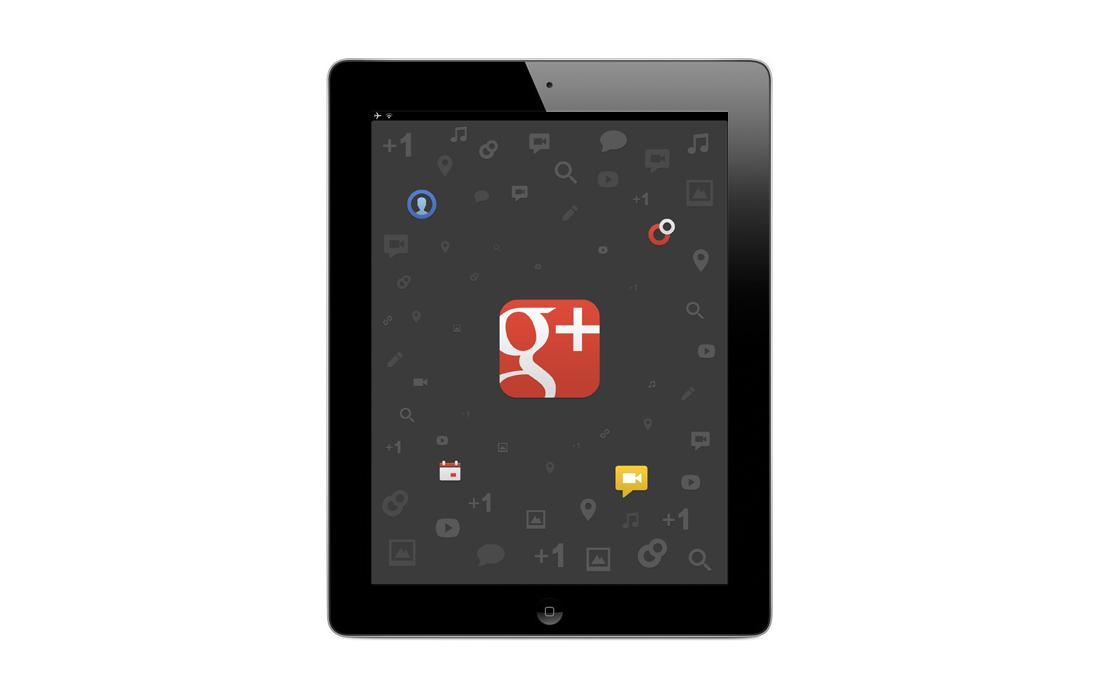 Google+ für das iPad