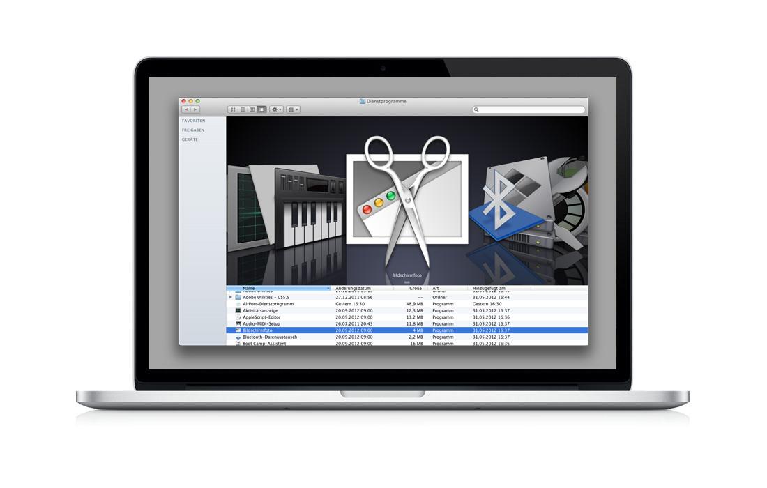 Screenshots mit OS X