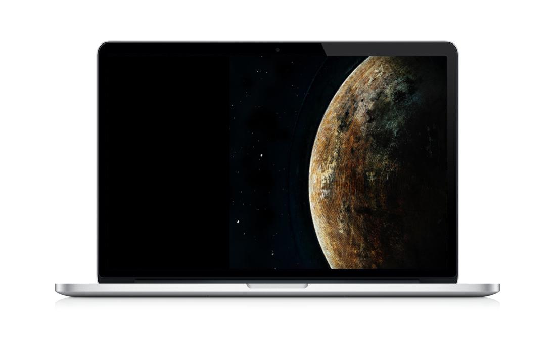 Der Planet »Silit-036-FP«