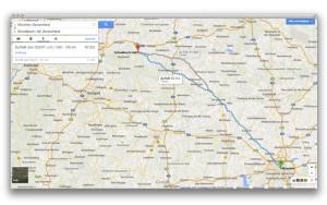 Maps: Routenplaner