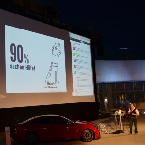 "Tom Kedor und ""Heinz"" bei der Social Media Night"