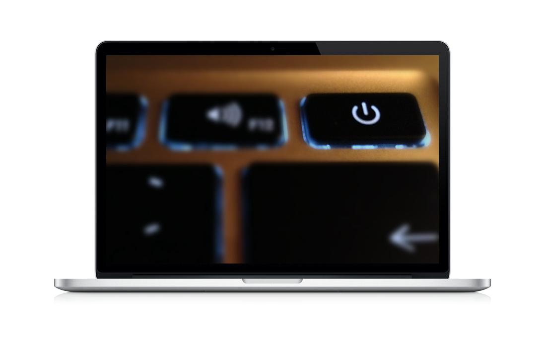 Der neue Power-Button unter OS X Mavericks
