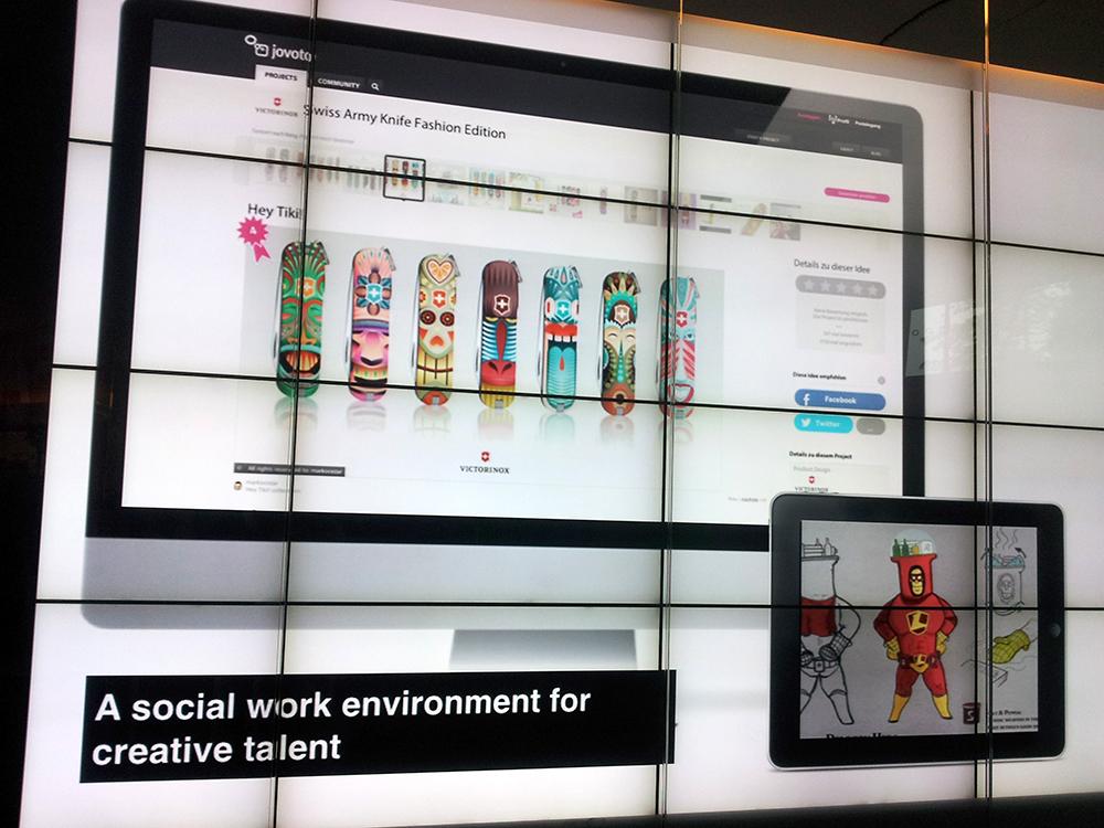 Auch viele gute Ideen: ein Projekt von Victorinox